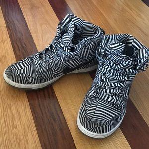 "Nike Dunk High Premium SB ""Concept Car"" Sneakers"